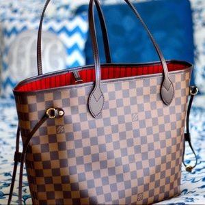 `New Louis Vuitton Neverfull Handbag Purse MMi